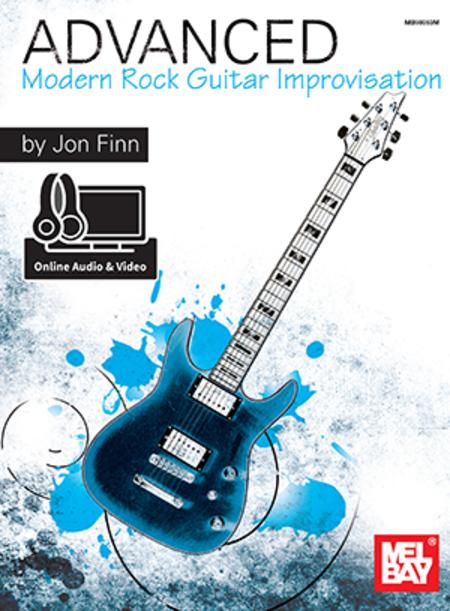 Modern Book Cover Guitar : Advanced modern rock guitar improvisation sheet music by