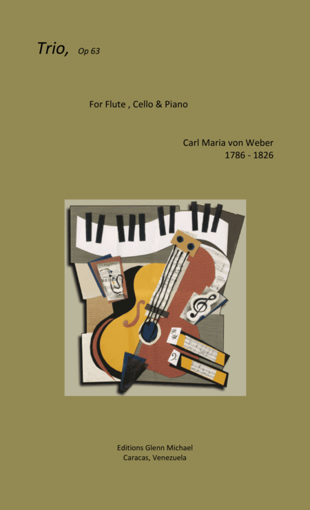 Weber, Trio for Flute, Cello & piano