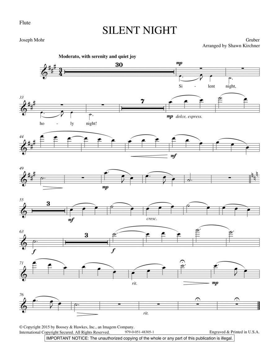 Silent Night - Flute