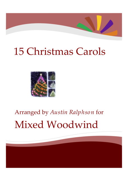 15 Christmas Carols for wind (mixed)