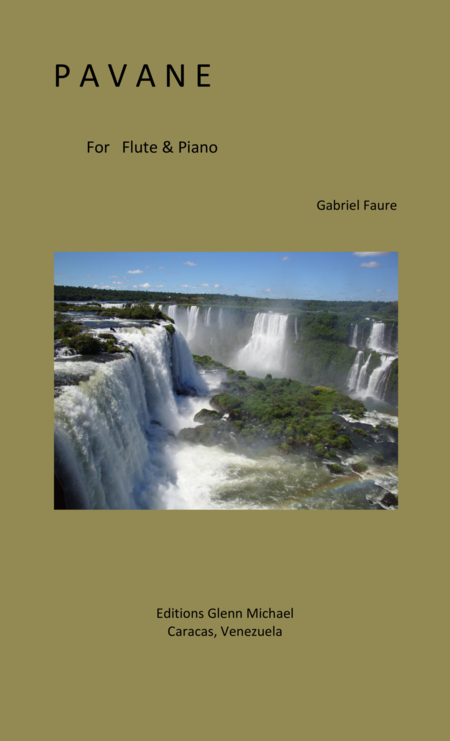 Faure Pavane for Flute & piano in G minor