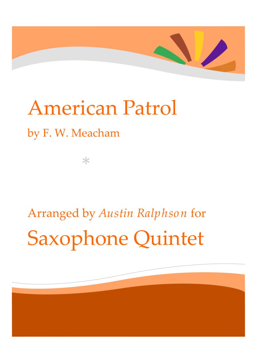 American Patrol - sax quintet