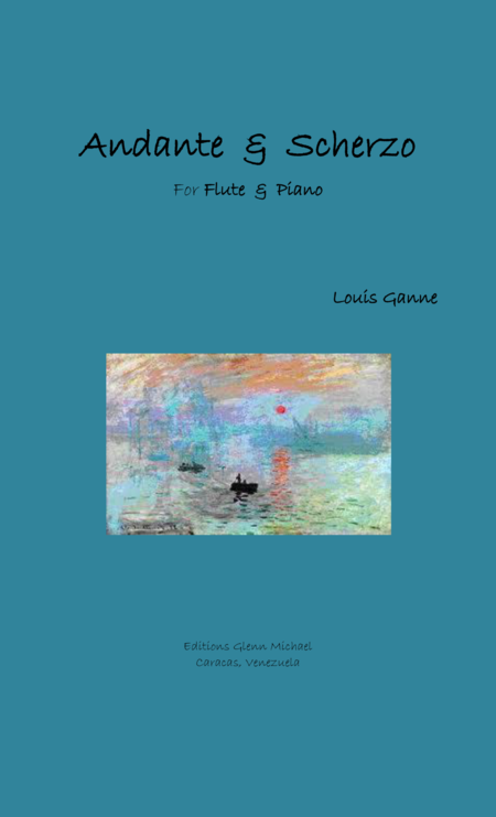 Andante & Scherzo for flute & piano