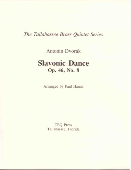 Slavonic Dance, Op. 46, No. 8