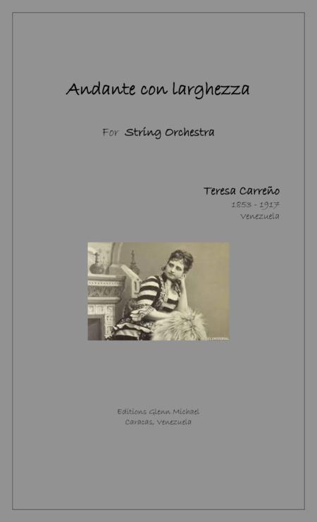 Andante con largghezza for String Orchestra