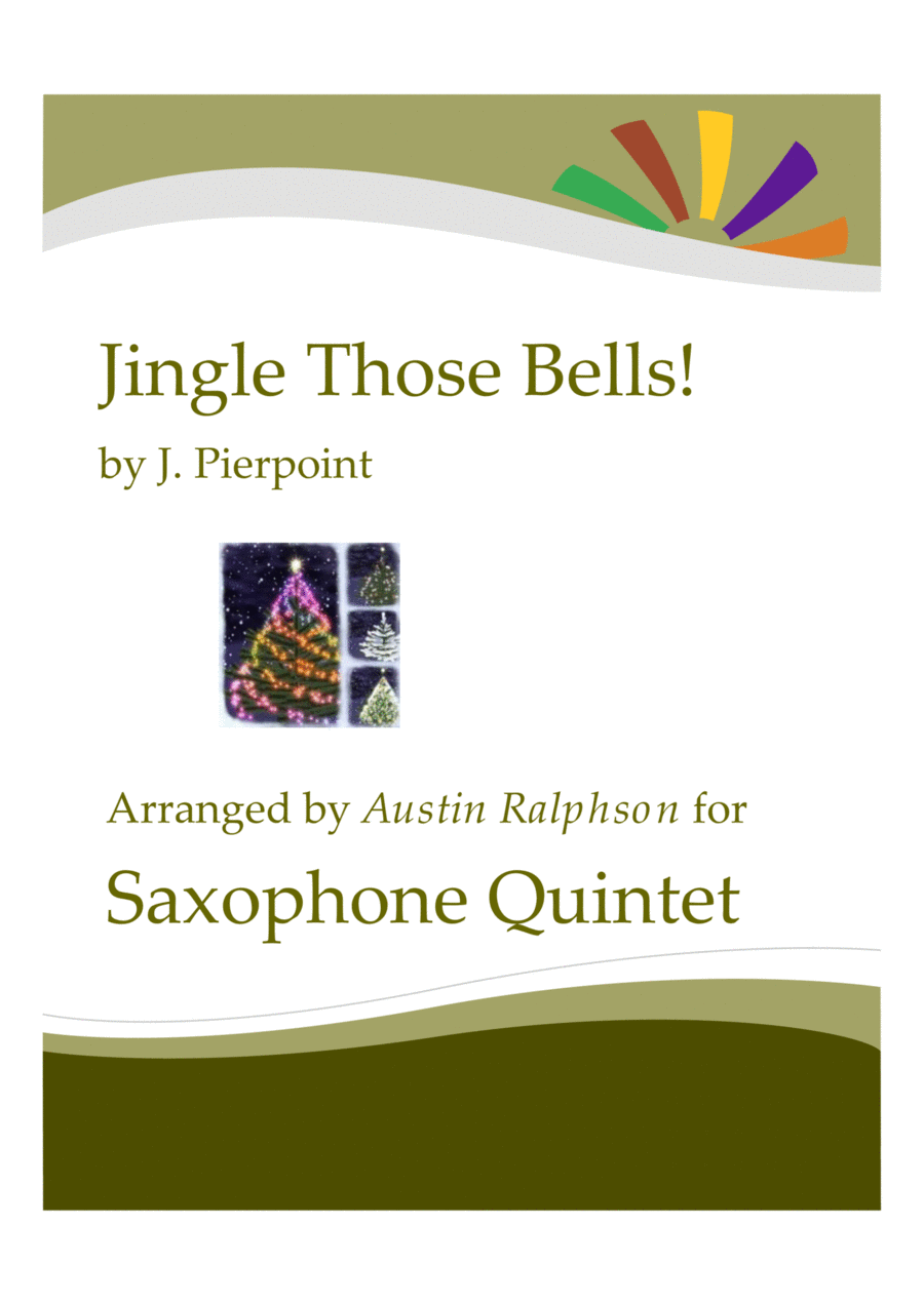 Jingle Those Bells - sax quintet