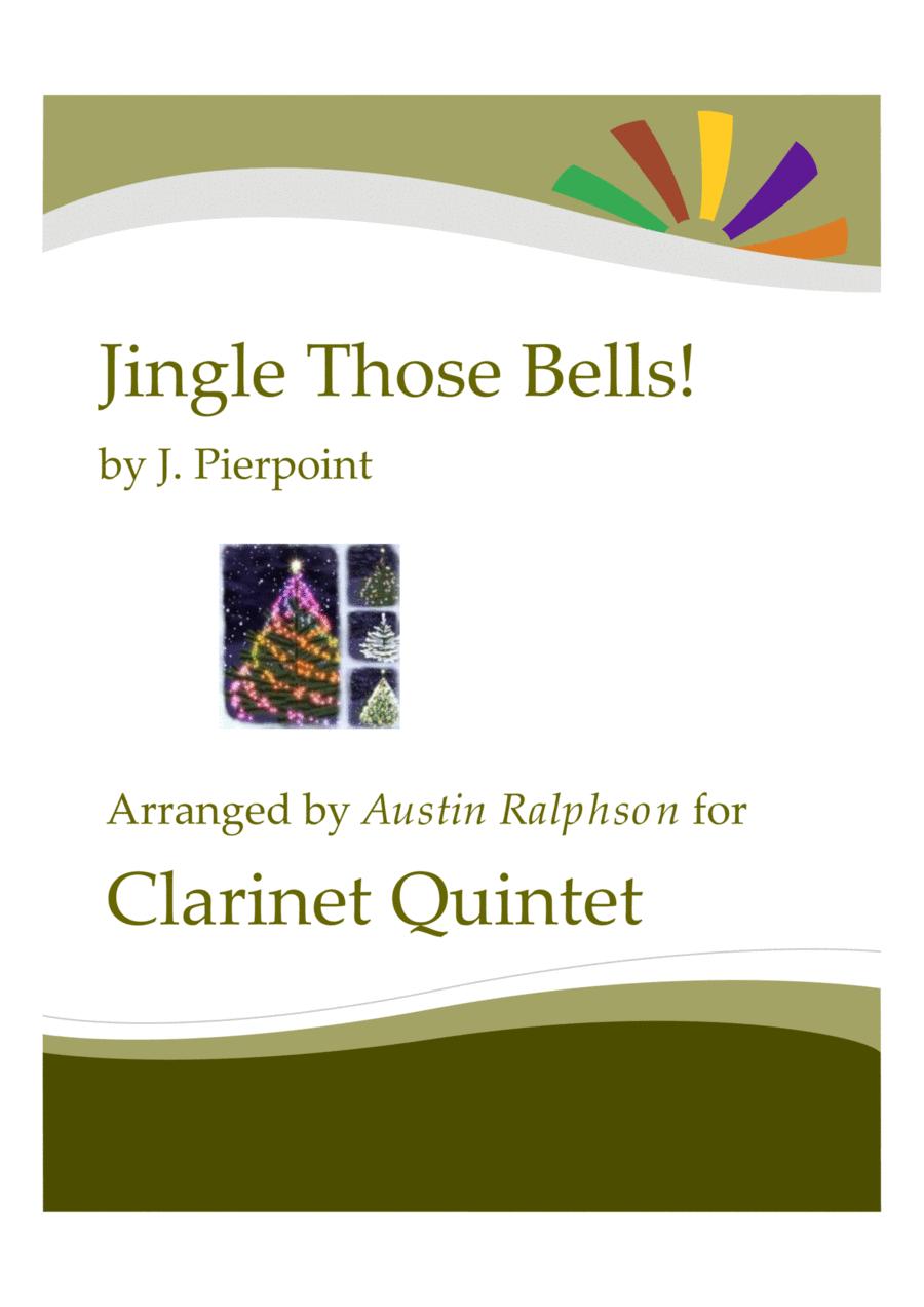 Jingle Those Bells - clarinet quintet