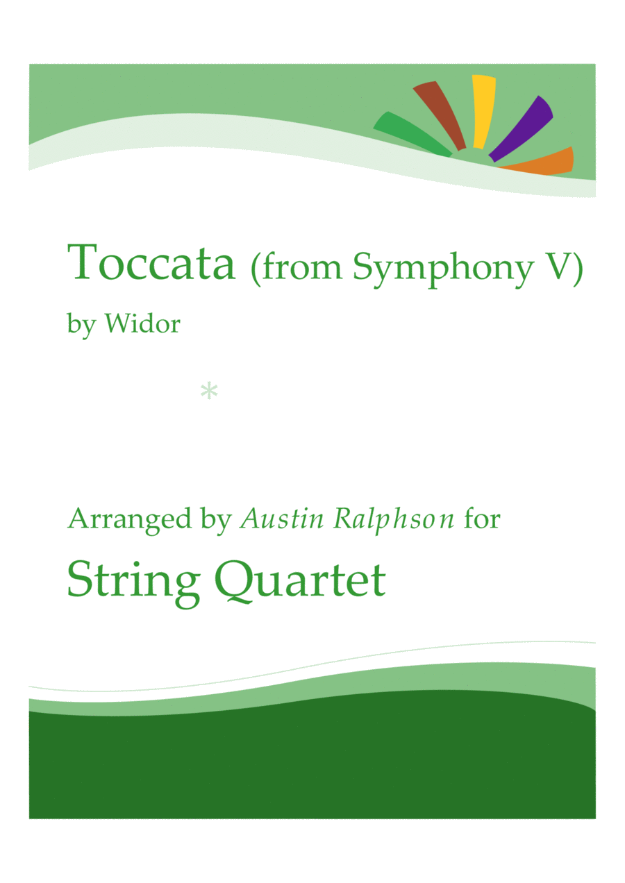 Toccata from Symphony No. 5 - string quartet or orchestra