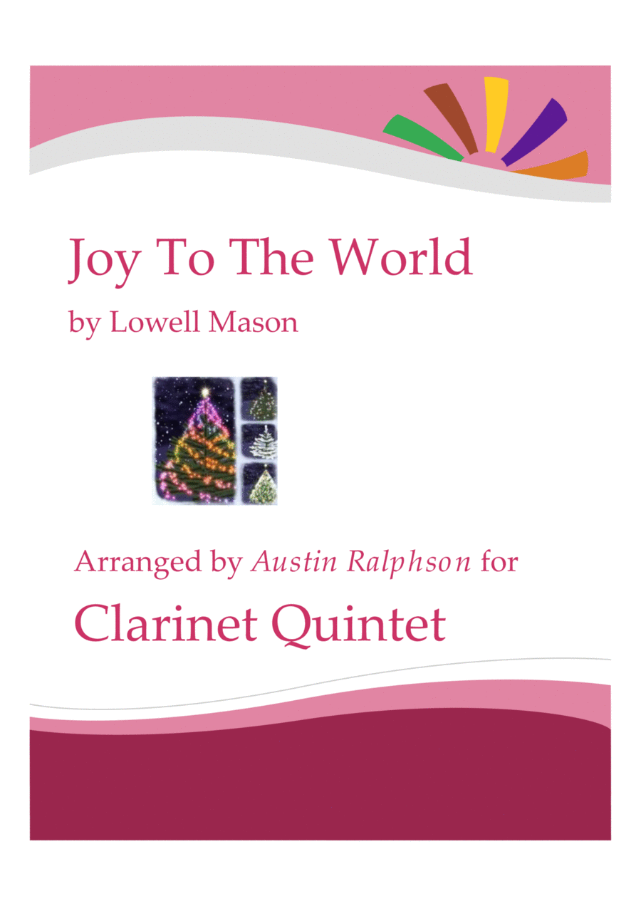 Joy To the World - clarinet quintet