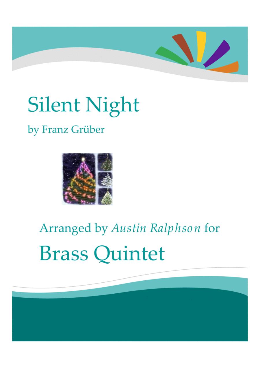 Silent Night - brass quintet