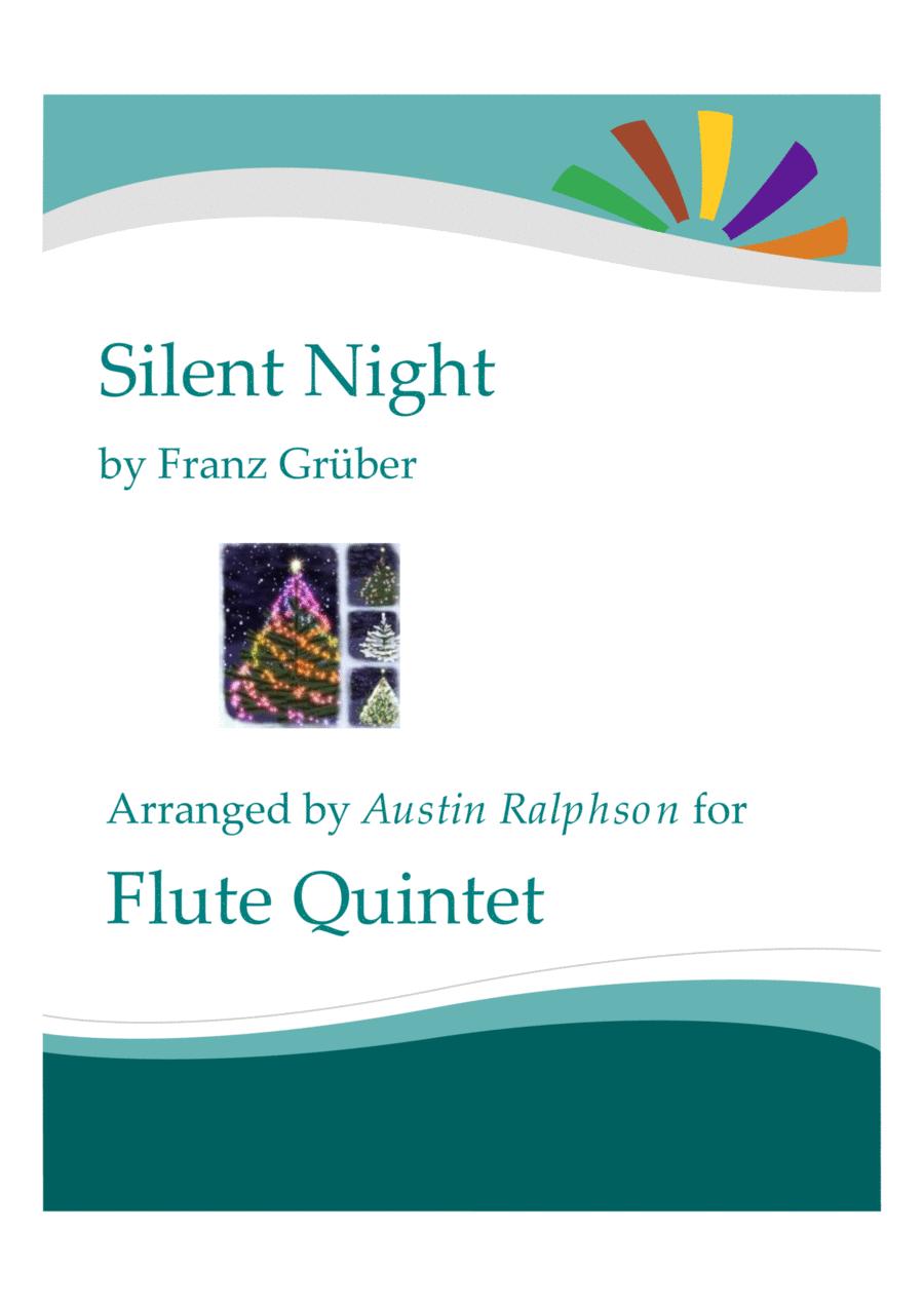 Silent Night - flute quintet