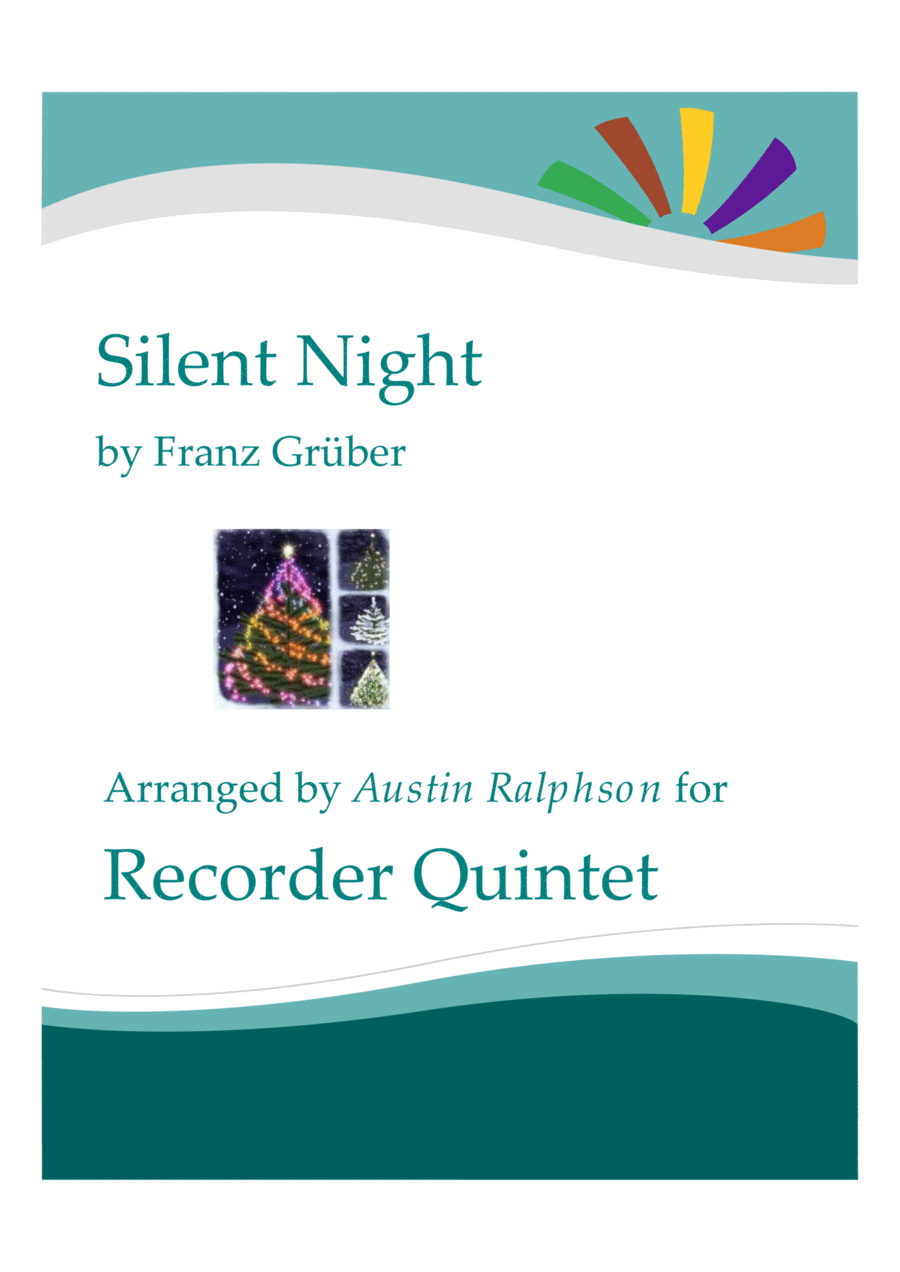 Silent Night - recorder quintet