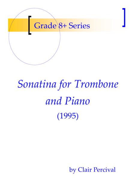Sonatina for trombone and piano