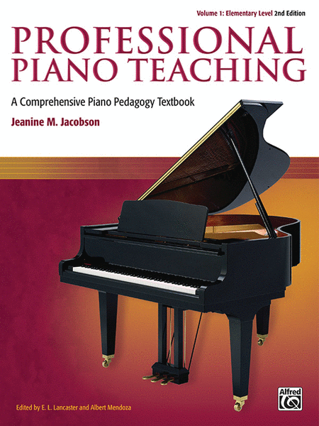 Professional Piano Teaching, Volume 1