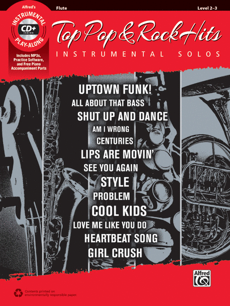 Top Pop & Rock Hits Instrumental Solos