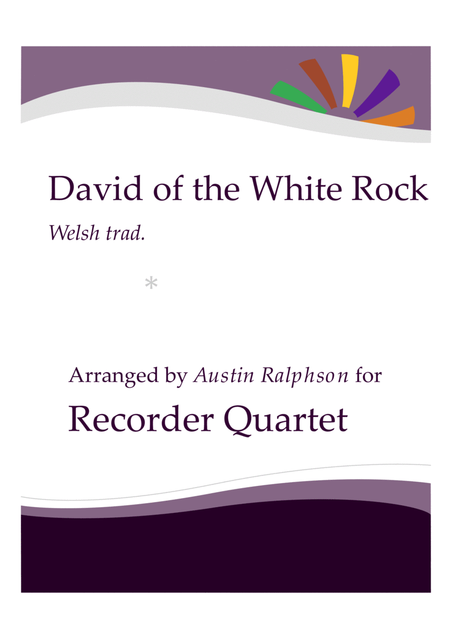David of the White Rock - recorder quartet
