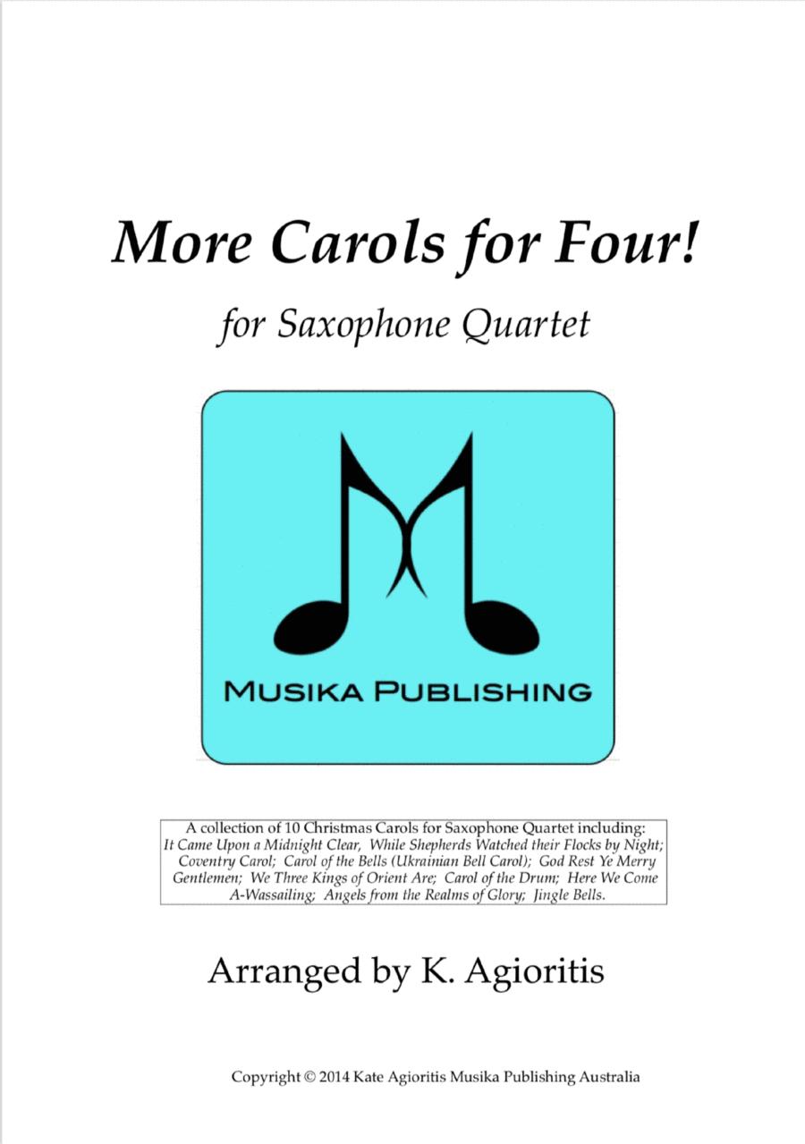 More Carols for Four! - Flute Quartet