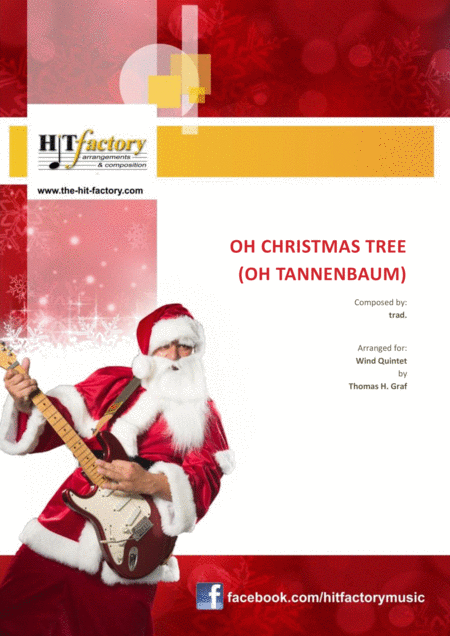 Oh Christmas tree (Oh Tannenbaum) - Funky  - Wind Quintet