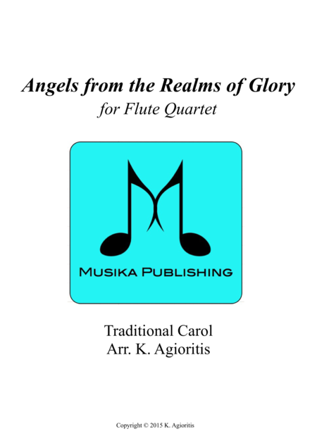 Angels from the Realms of Glory - Flute Quartet