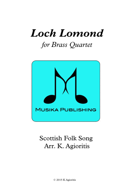 Loch Lomond - for Brass Quartet