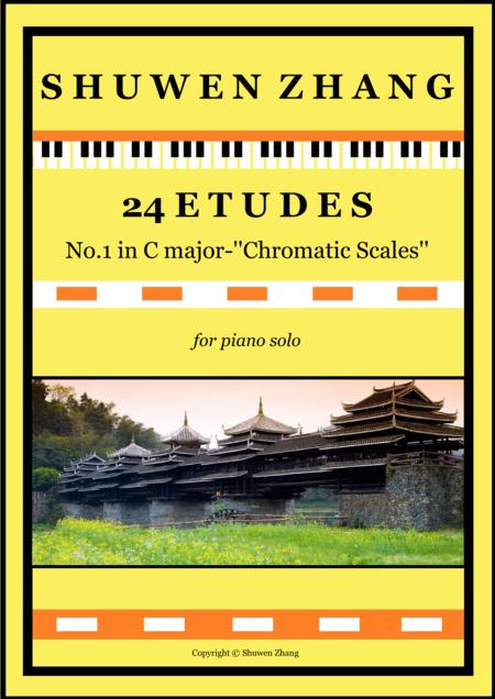 24 Etudes-No.1 in C major-'Chromatic Scales'