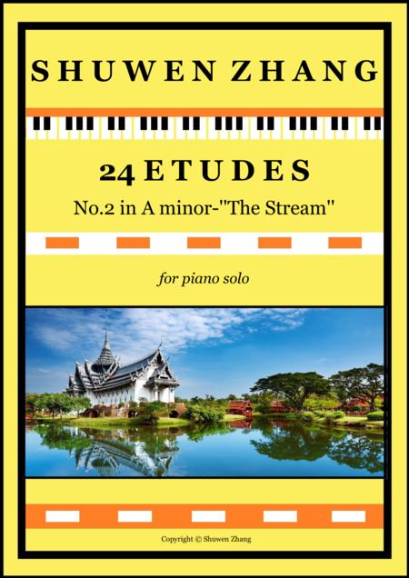 24 Etudes-No.2 in A minor-''The Stream''