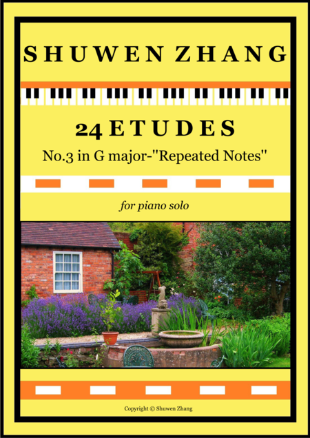24 Etudes-No.3 in G major-'Repeated Notes'