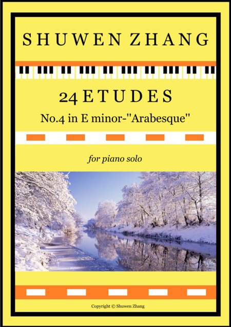 24 Etudes-No.4 in E minor-'Arabesque'