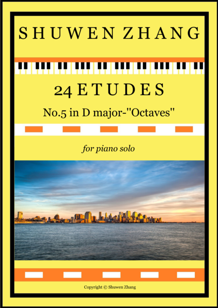 24 Etudes-No.5 in D major-'Octaves'