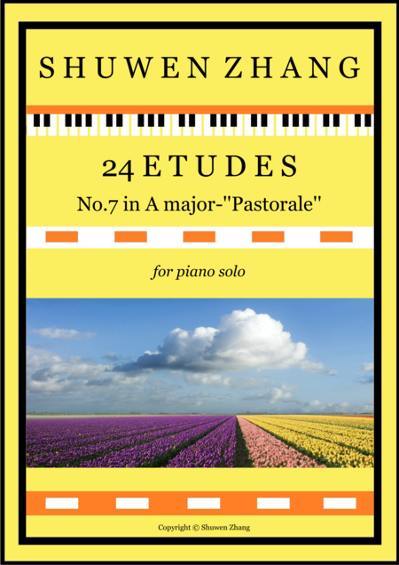 24 Etudes-No.7 in A major-'Pastorale'