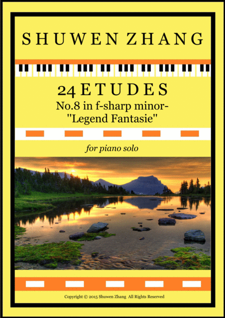 24 Etudes-No.8 in F-sharp minor-'Legend Fantasie'