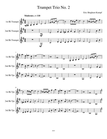 Trumpet Trio No. 2