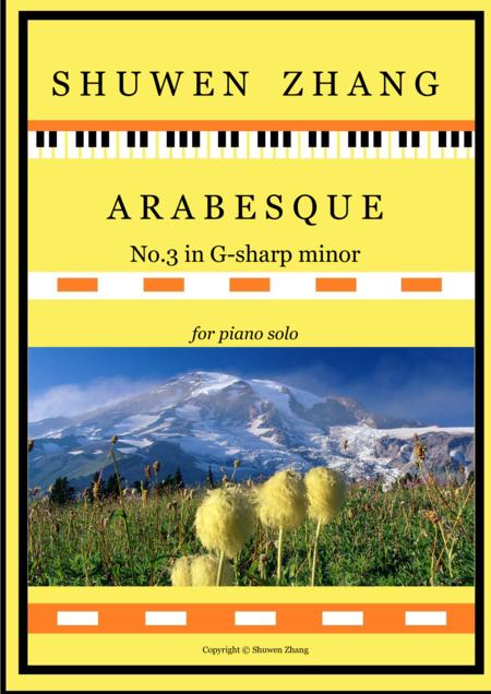 Arabesque No.3 in G-sharp minor
