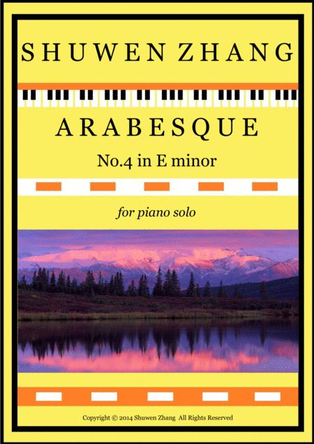 Arabesque No.4 in E minor