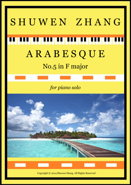 Arabesque No.5 in F major