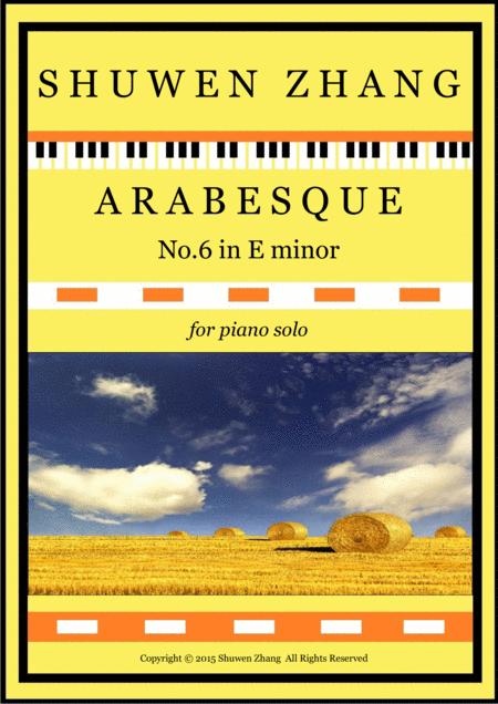 Arabesque No.6 in E minor
