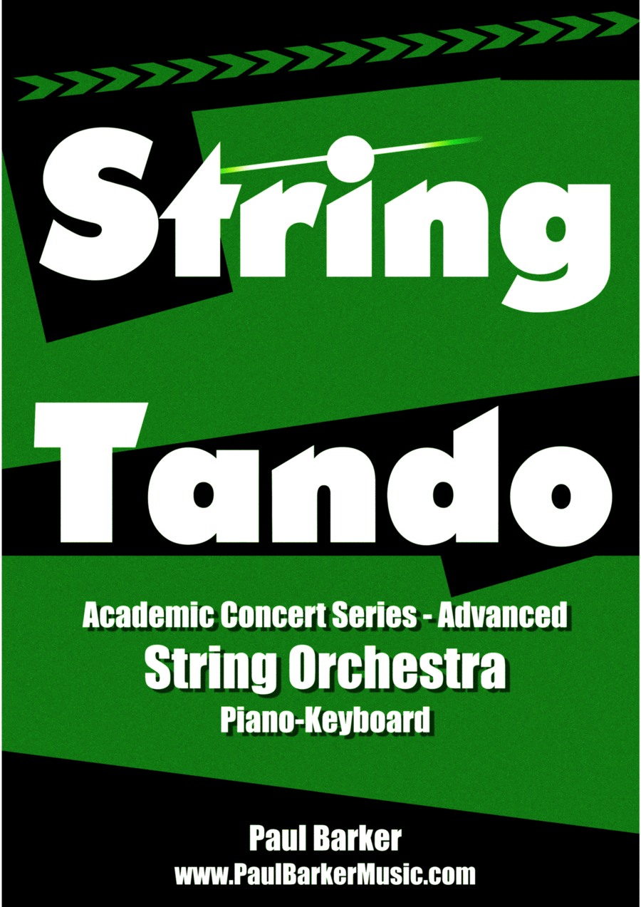 Stringtando (Score & Parts)