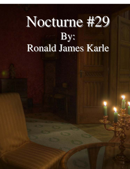 Nocturne #29 by: Ronald J. Karle