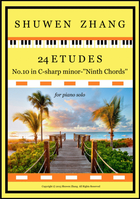 24 Etudes-No.10 in C-sharp minor-'Ninth Chords'