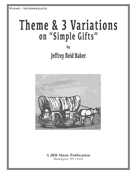 Simple Gifts - Theme and 3 Variations