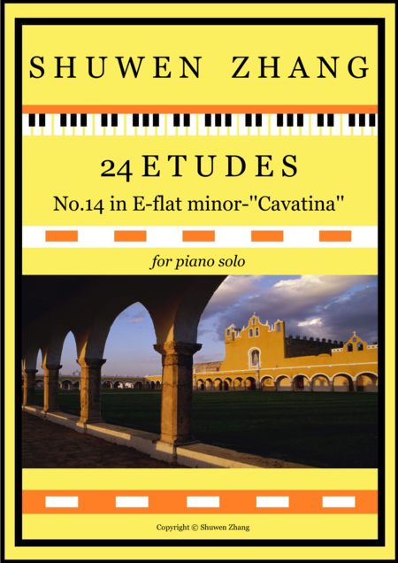 24 Etudes-No.14 in E-flat minor-'Cavatina'