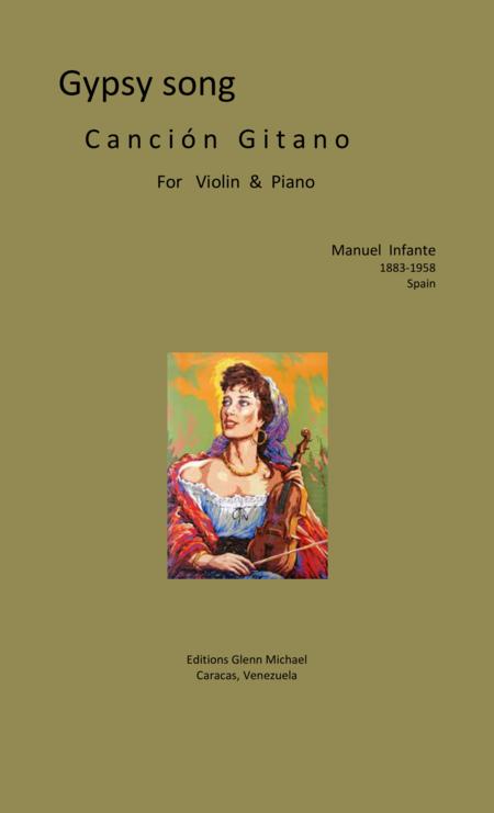 Gypsy song for Violin & piano