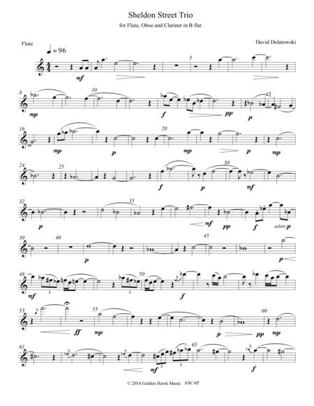 Sheldon Street Trio flute part