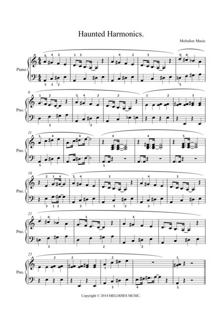 Haunted Harmonics
