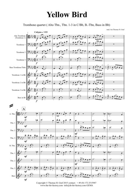 bohemian rhapsody trombone quartet pdf