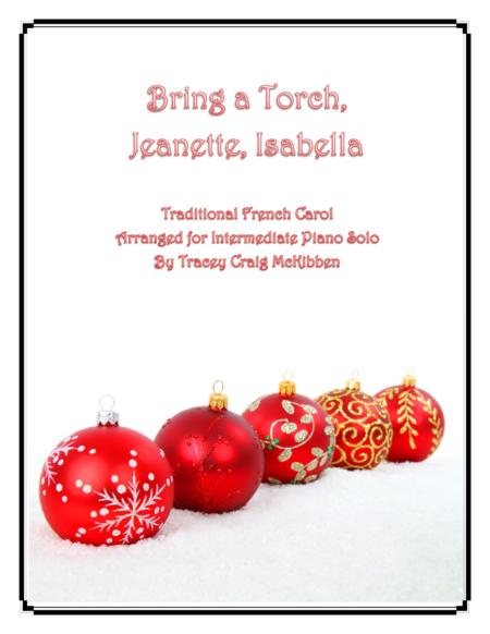 Bring a Torch, Jeanette, Isabella (Piano Solo)