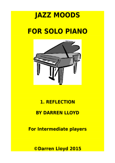 Jazz Moods for solo Piano - 1. Reflection