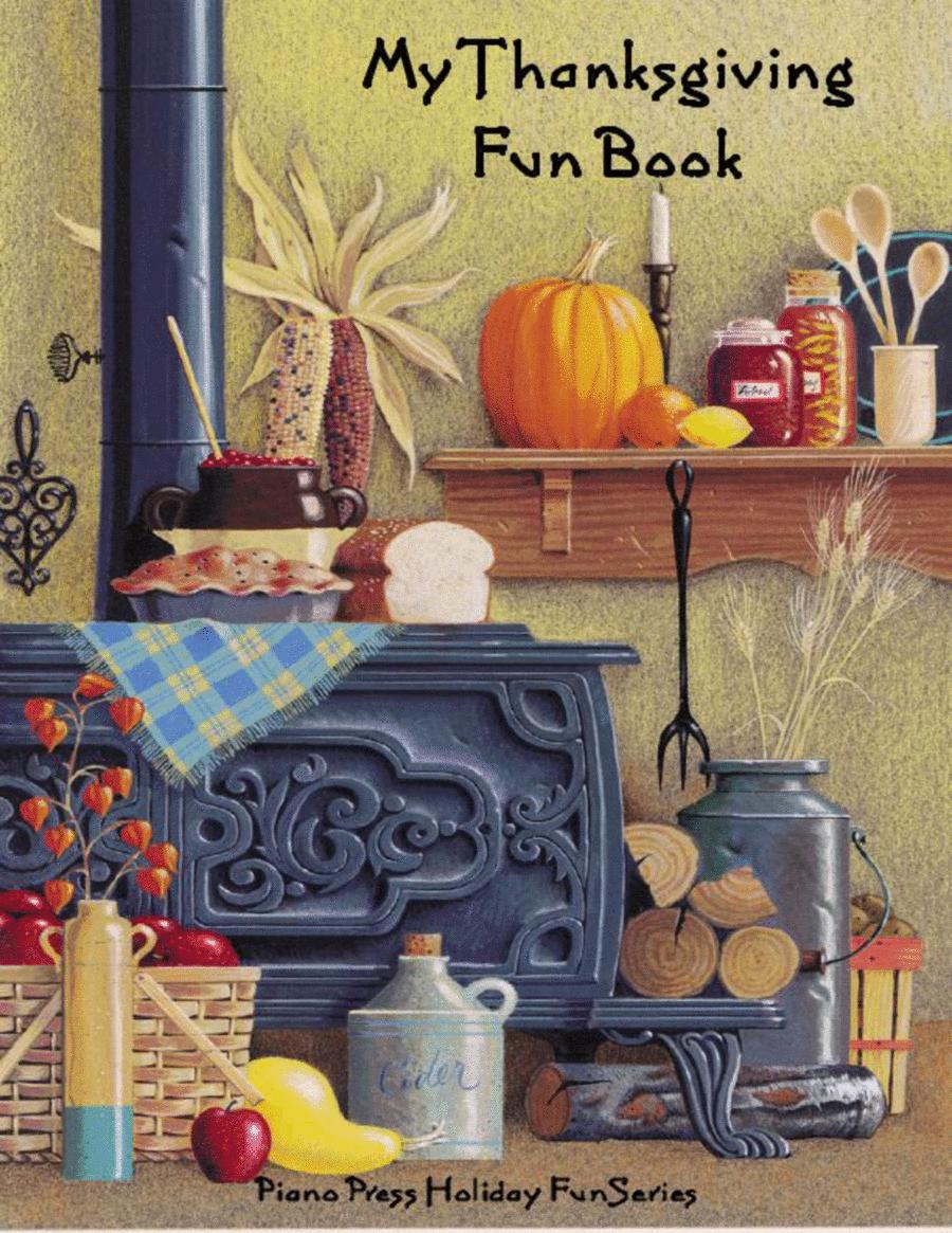 My Thanksgiving Fun Book