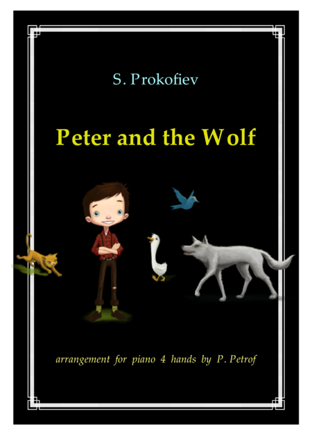 S. Prokofiev - Peter and the Wolf - for piano 4 hands