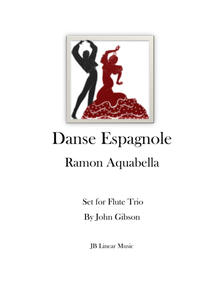 Danse Espagnole for Flute Trio